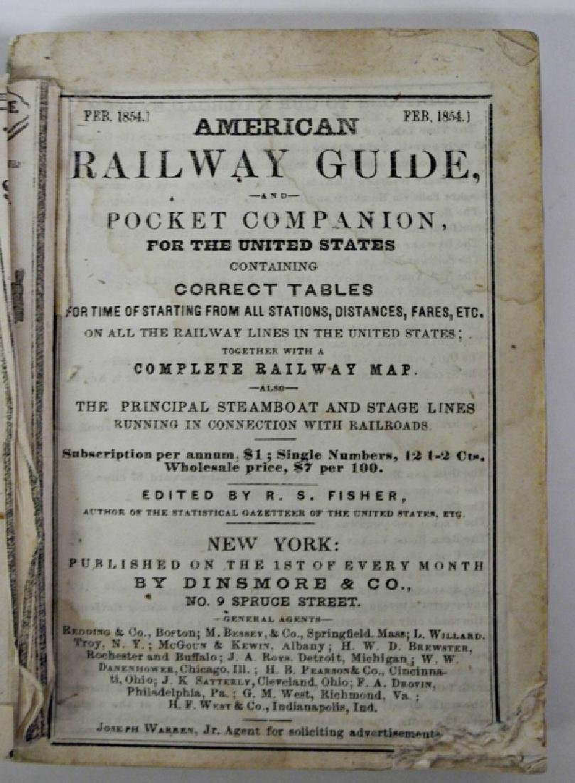 American Railway Guide & Pocket Companion for the US