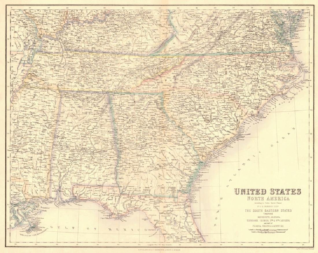 United States North America... the South Eastern States