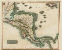 Thomson: Antique Map of Spanish North America, 1817