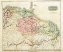 Thomson: Map of Venezuela/Guianas/Amazonia, 1817