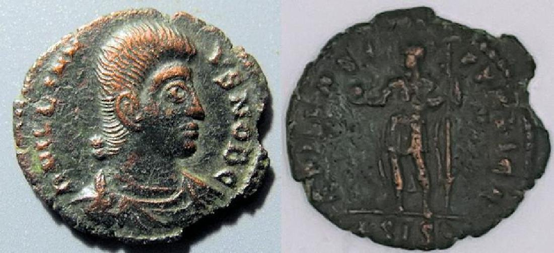 Julian II The Philosopher, AE3, SPES REIPVBLICAE