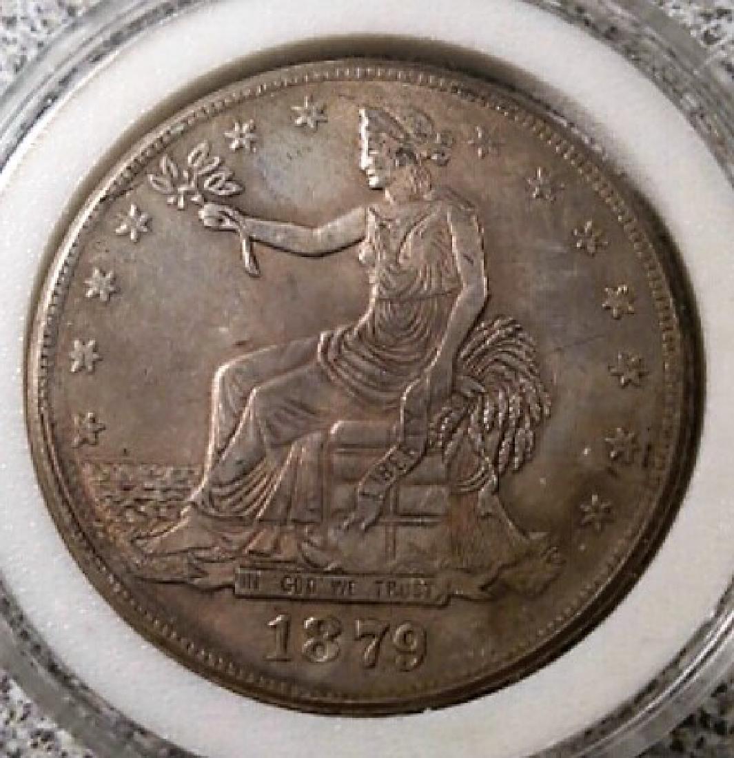1879 U.S. Trade Dollar