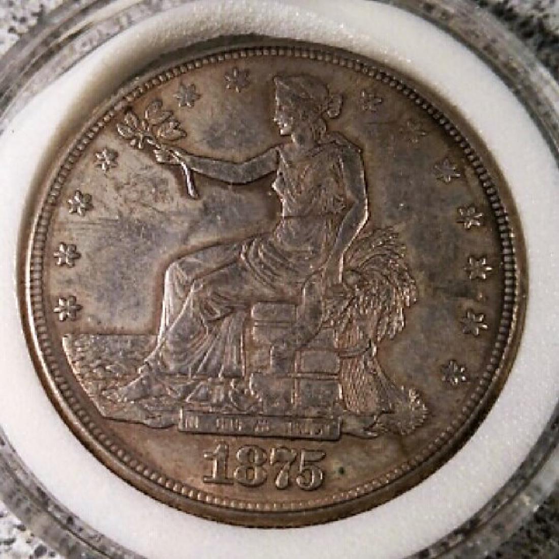 1875 U.S. Trade Dollar