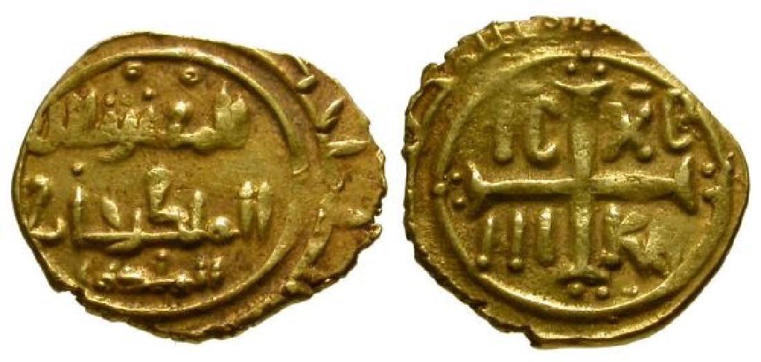 Sicily Roger II 1105-1154 AD AV tari Siqilliya mint
