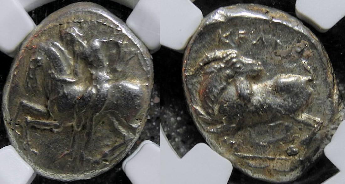 Greek Silver Cilicia Celendris AR stater 425-350 BC