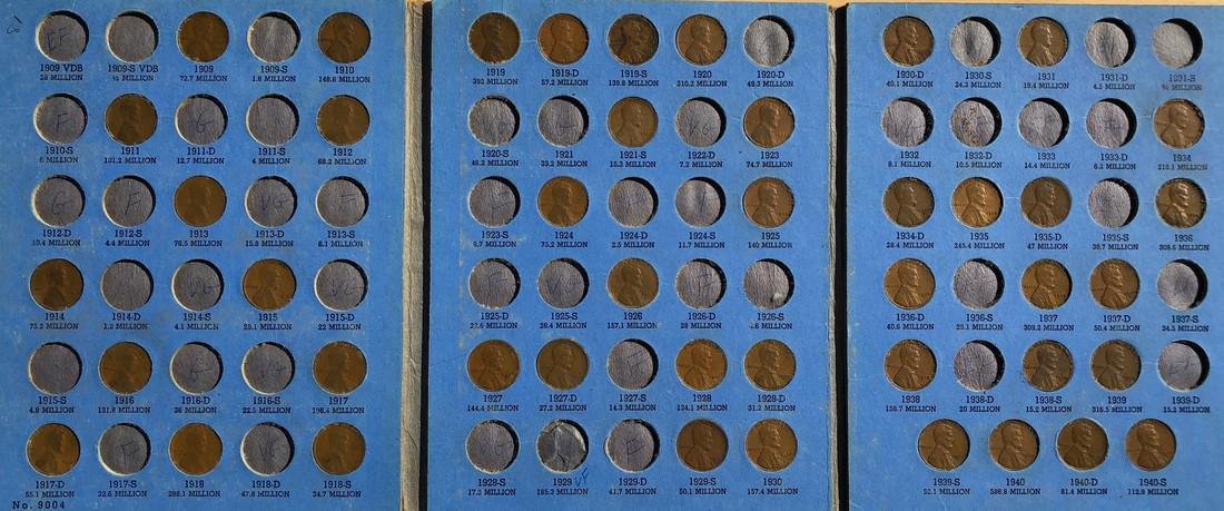 5-Coin Book Starter Sets