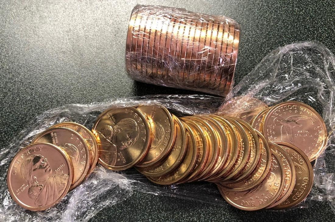 40 Sacagawea Dollar Coins. $40 face value.