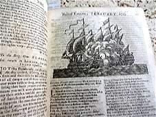 1743 Volume Gentlemans Magazine Nice Text Cuts History