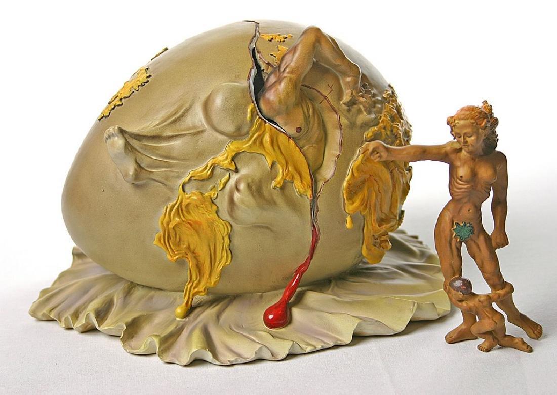 After Salvador Dali: La Naissance statue