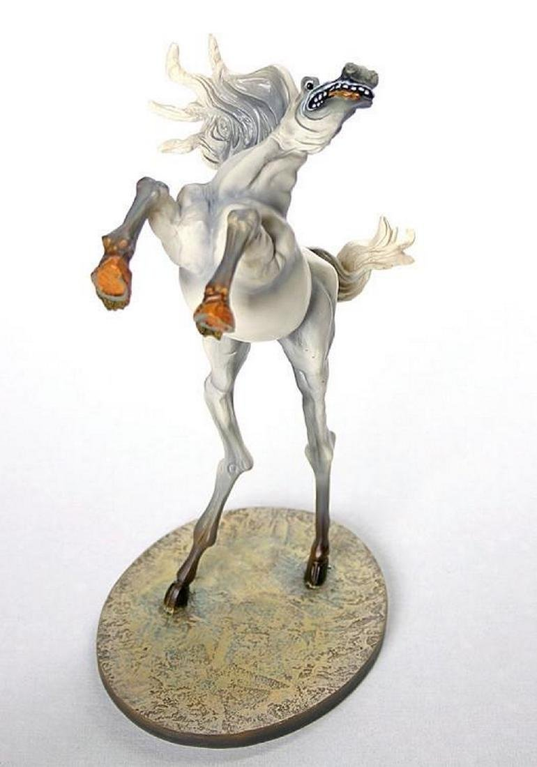 After Salvador Dali: Horse of Saint Anthony statue