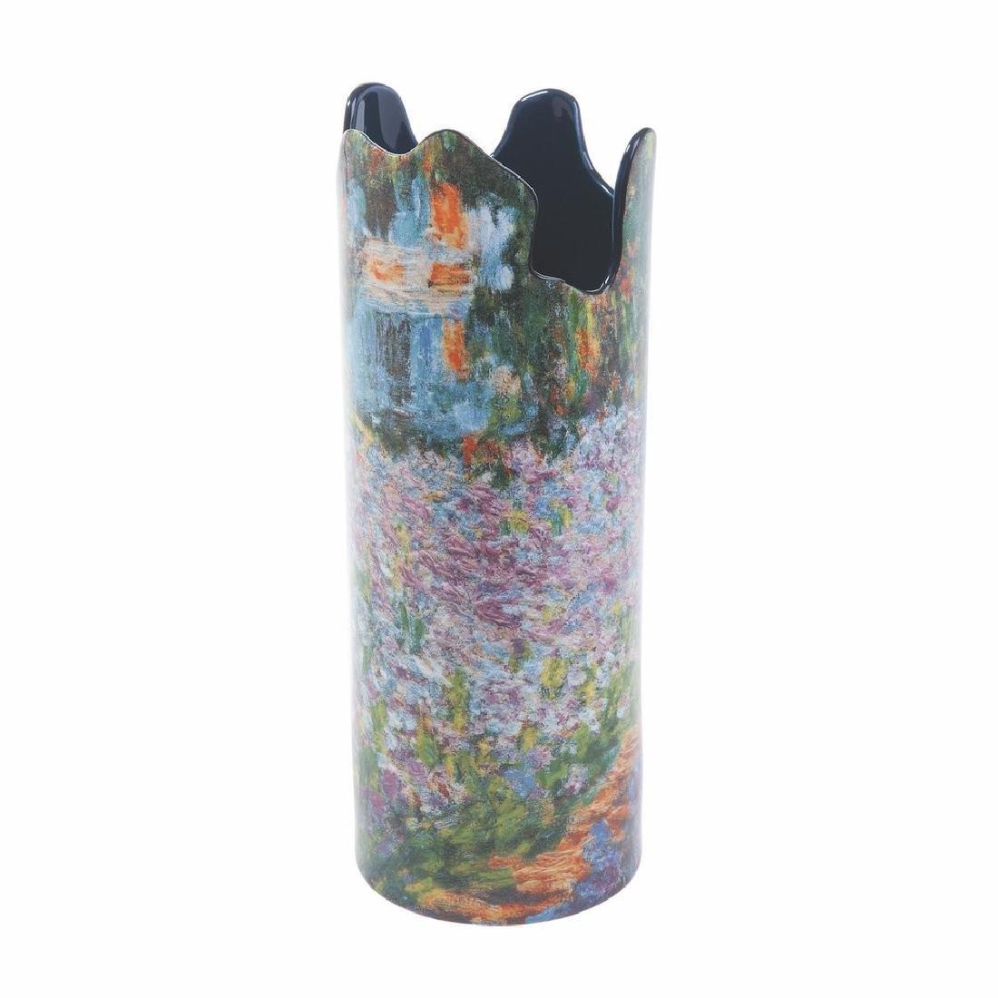 After Claude Monet: Vase Le Jardin de Monet
