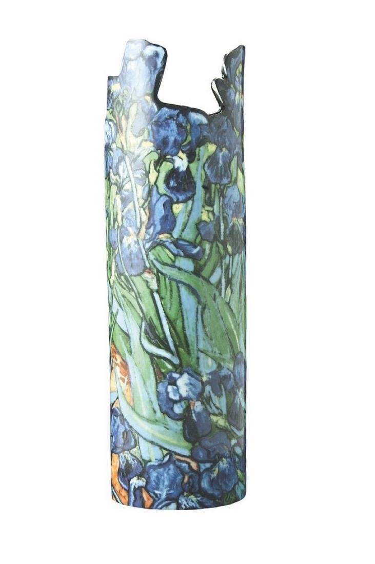 After Van Gogh: Vase Irises