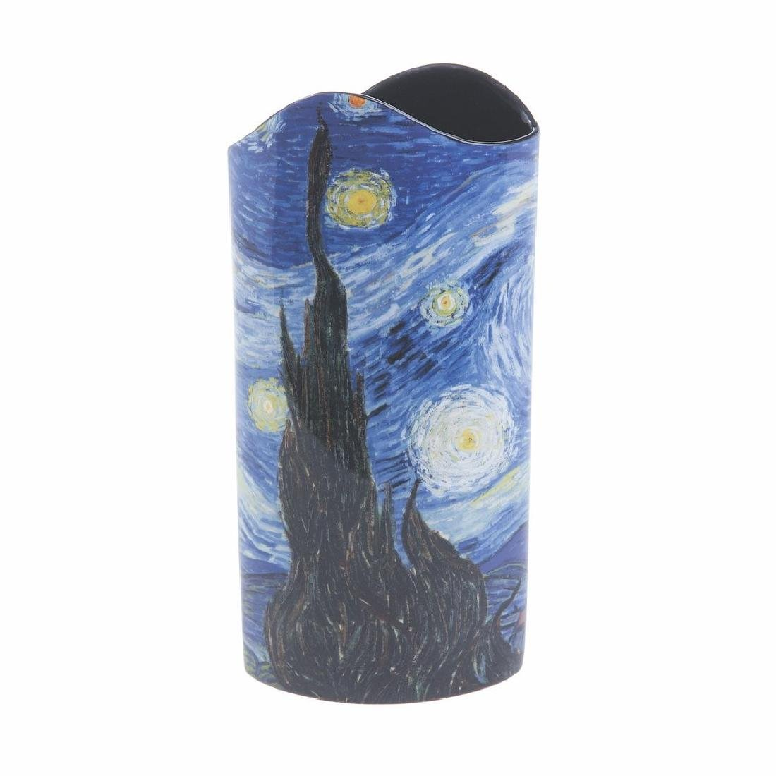 After Van Gogh: Vase The Starry Night