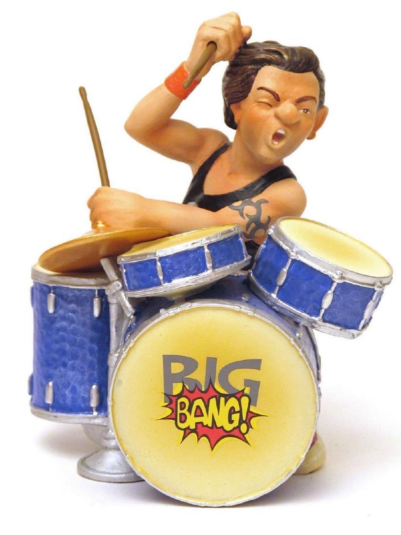 Big Bang Band Drums statue