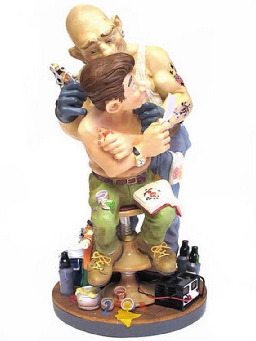 Profisti Collection: Tattooist statue