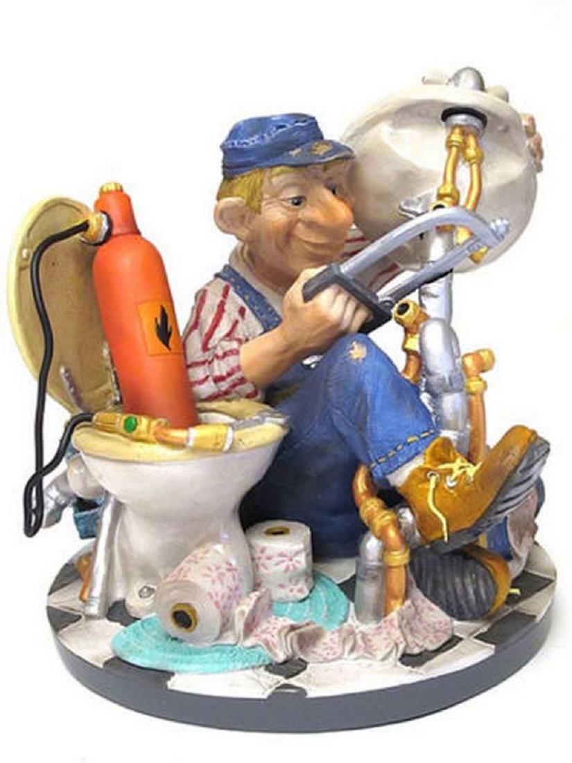 Profisti Collection: Plumber statue