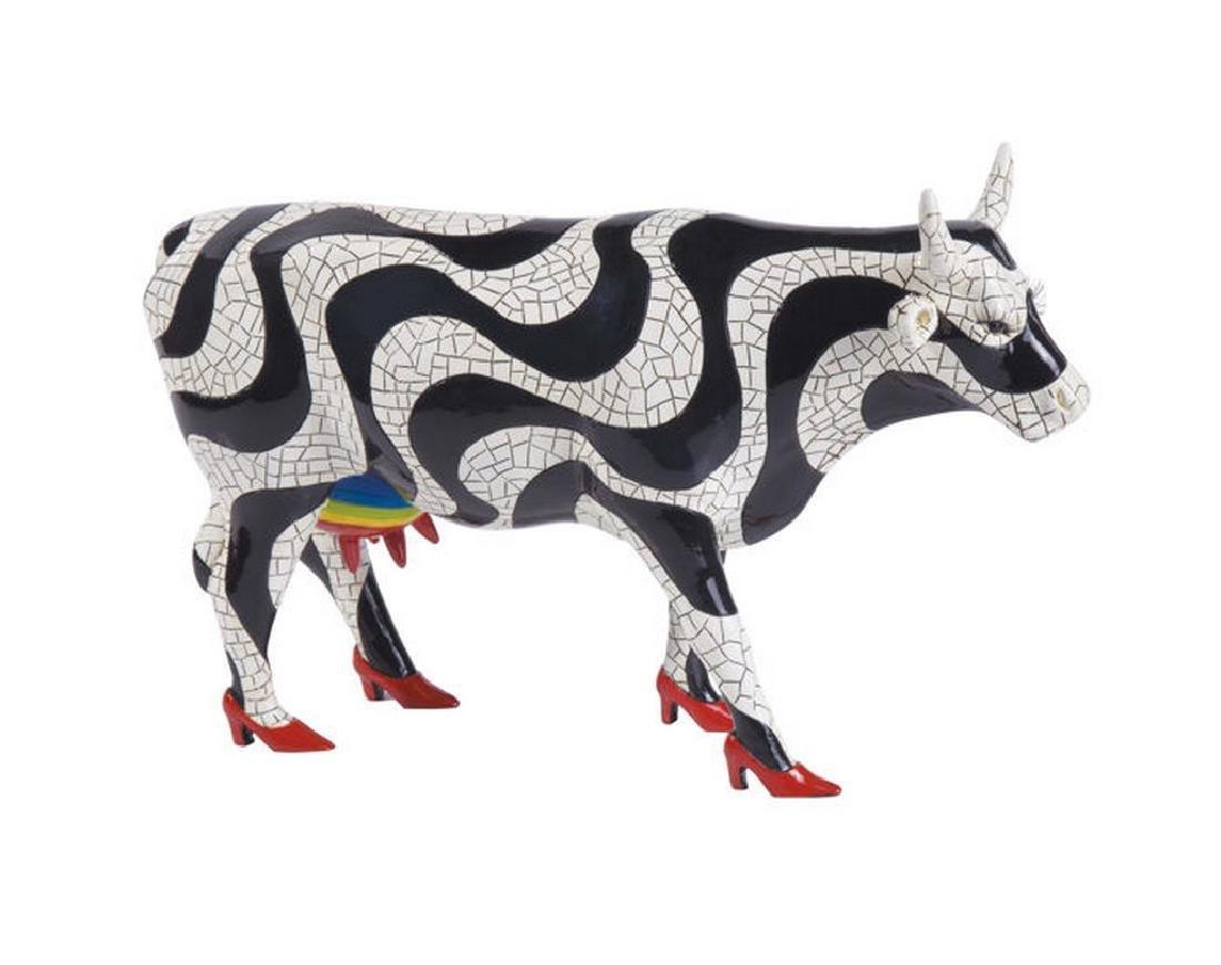 CowParade: Paraiso Tropical Cow statue