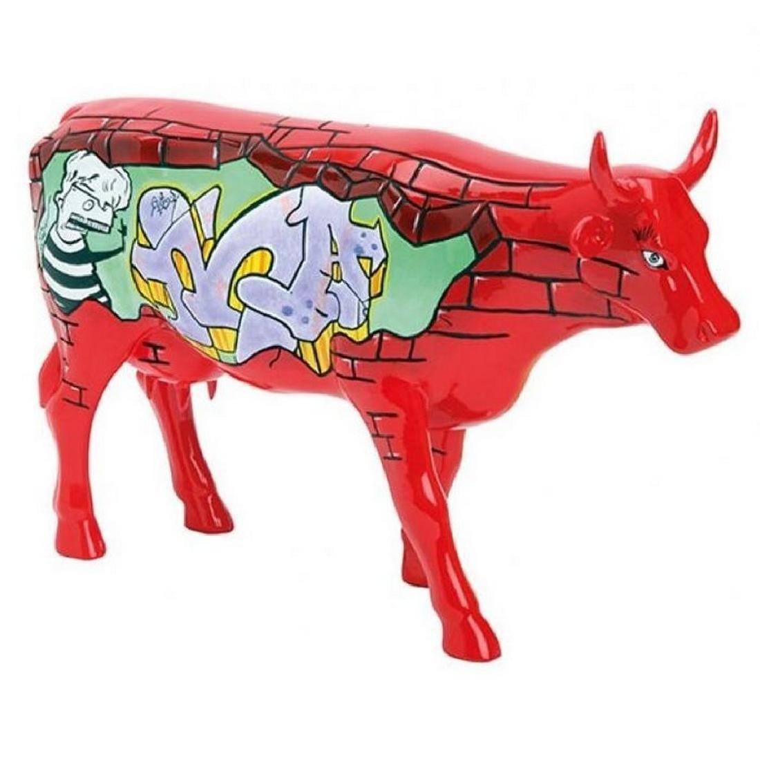 CowParade: Balanquita Cow statue