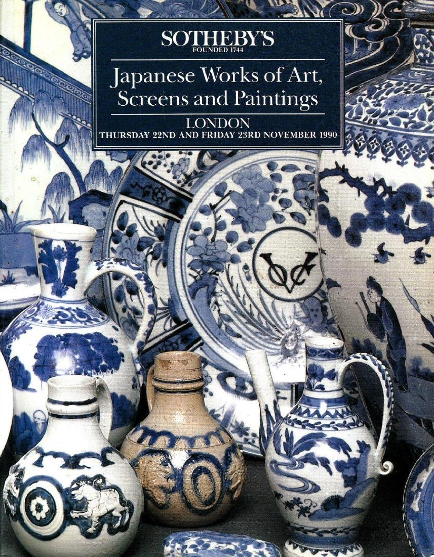 Sotheby's Japanese Works of Art Catalogue 1990