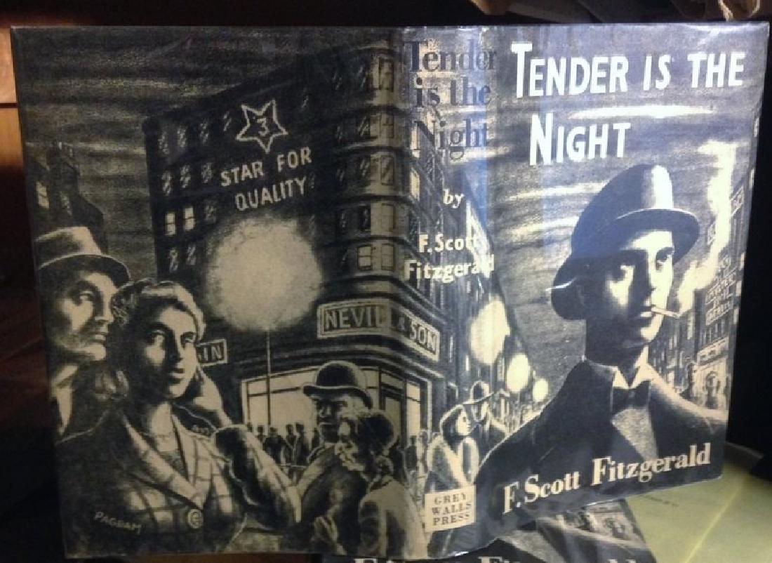 Fitzgerald, F. Scott Tender Is the Night 1953