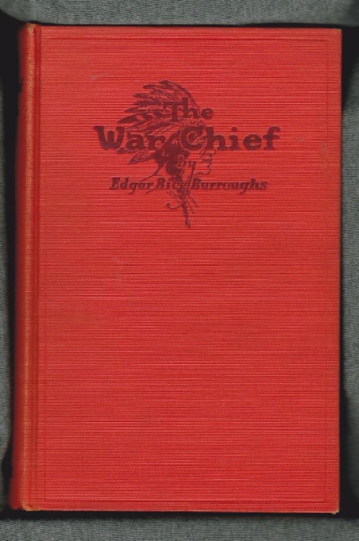 The War Chief Burroughs, Edgar Rice First Edition  1927