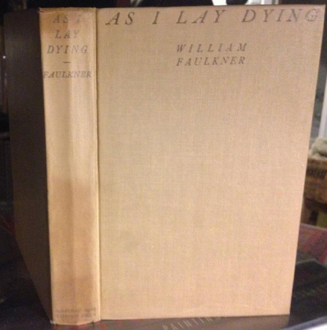Faulkner, William as I Lay Dying First Printing 1930
