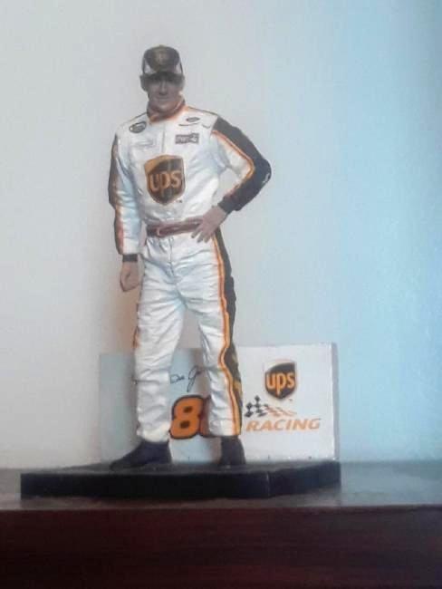 Dale Jarrett Figure Statue Toy