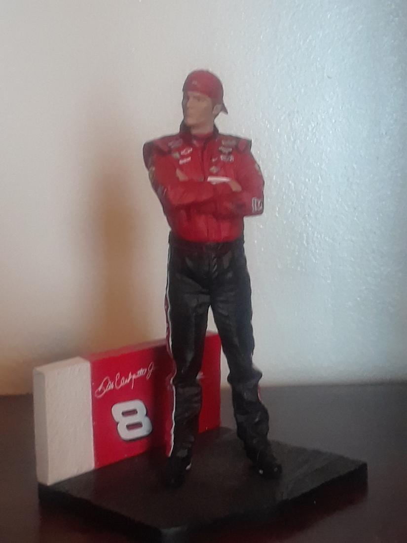 Dale Earnhardt Jr Figure Statue Toy
