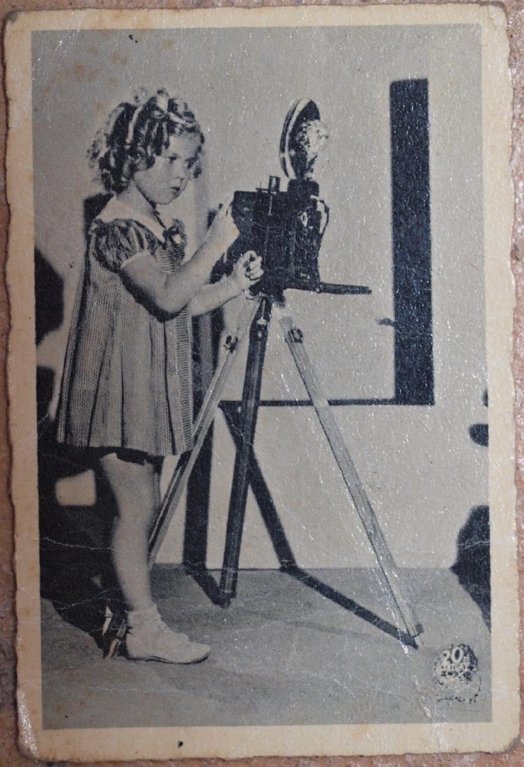 Card Shirley Temple 1950s 20th Century Fox