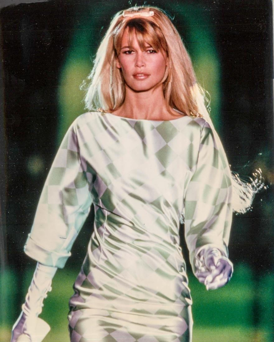 Claudia Schiffer Color Portrait