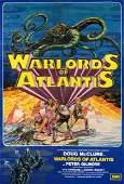 Warlords of Atlantis 1978 Doug Mcclure Uk One-sheet