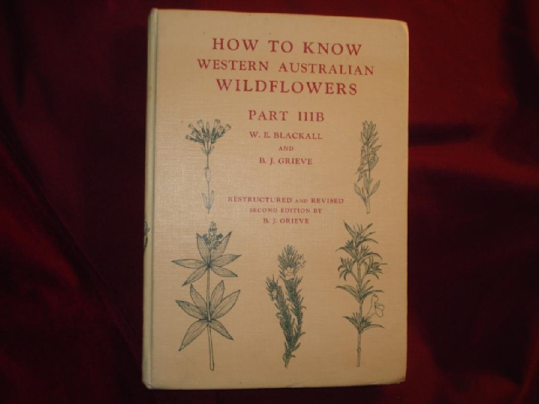 How to Know Western Australian Wildflowers. Parts IIIB.