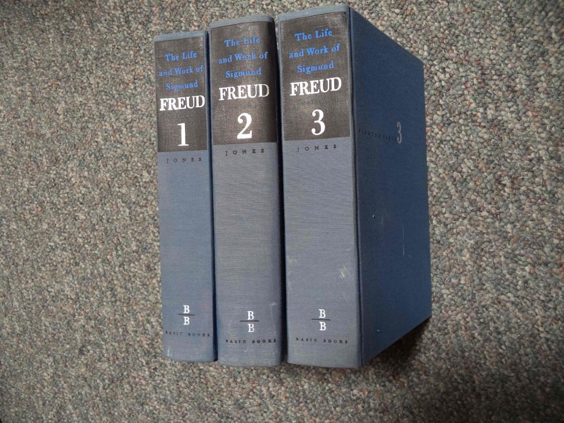 Life & Work Sigmund Freud Three Volumes