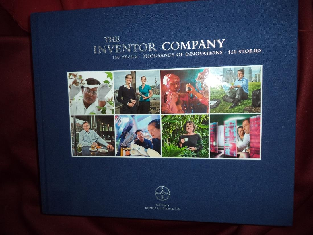 Bayer Inventor Company 150 Years Thousands Innovations