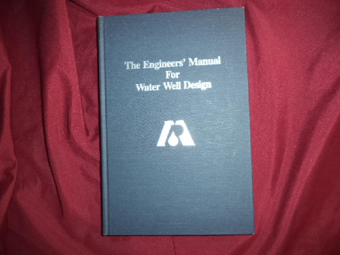 The Engineers' Manual or Water Well Design.