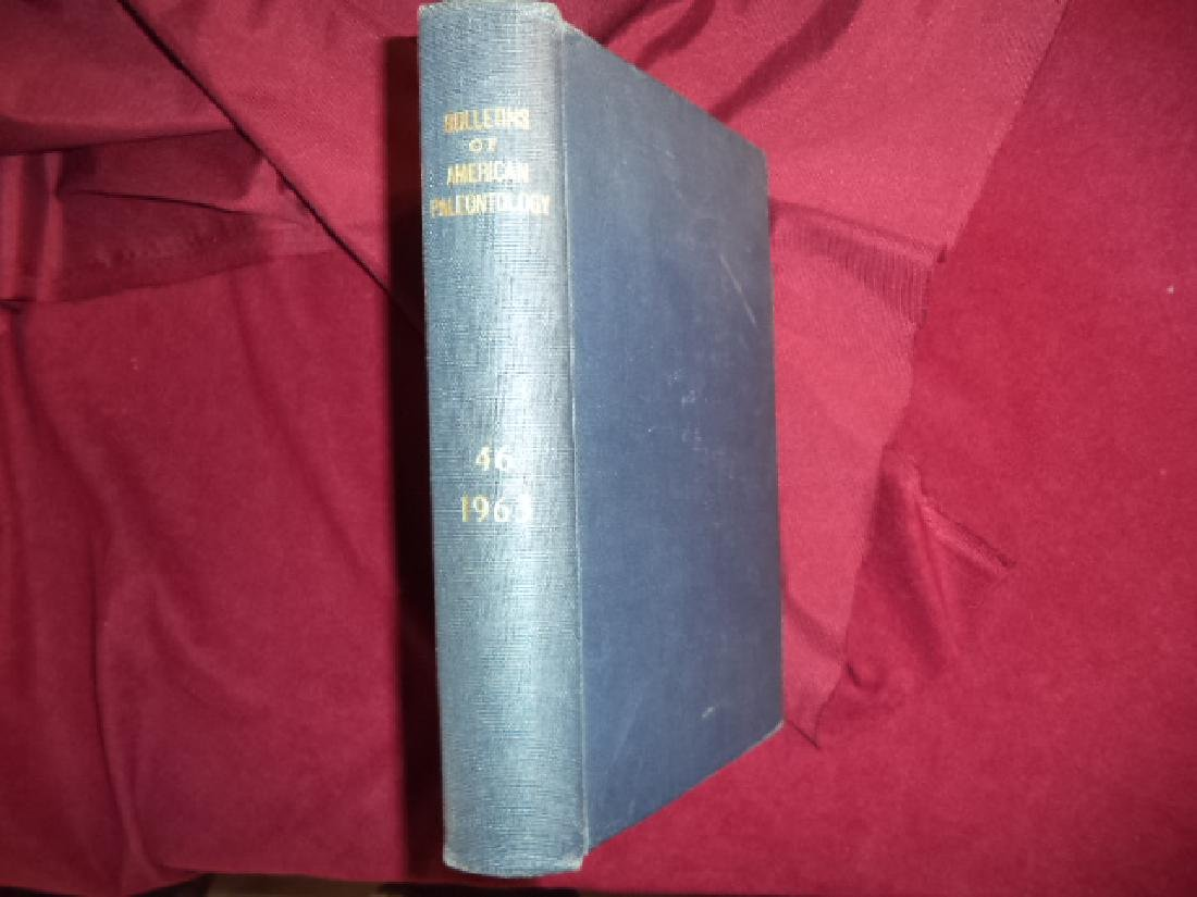 Bulletins of American Paleontology. Vol. XLVI. 1963.