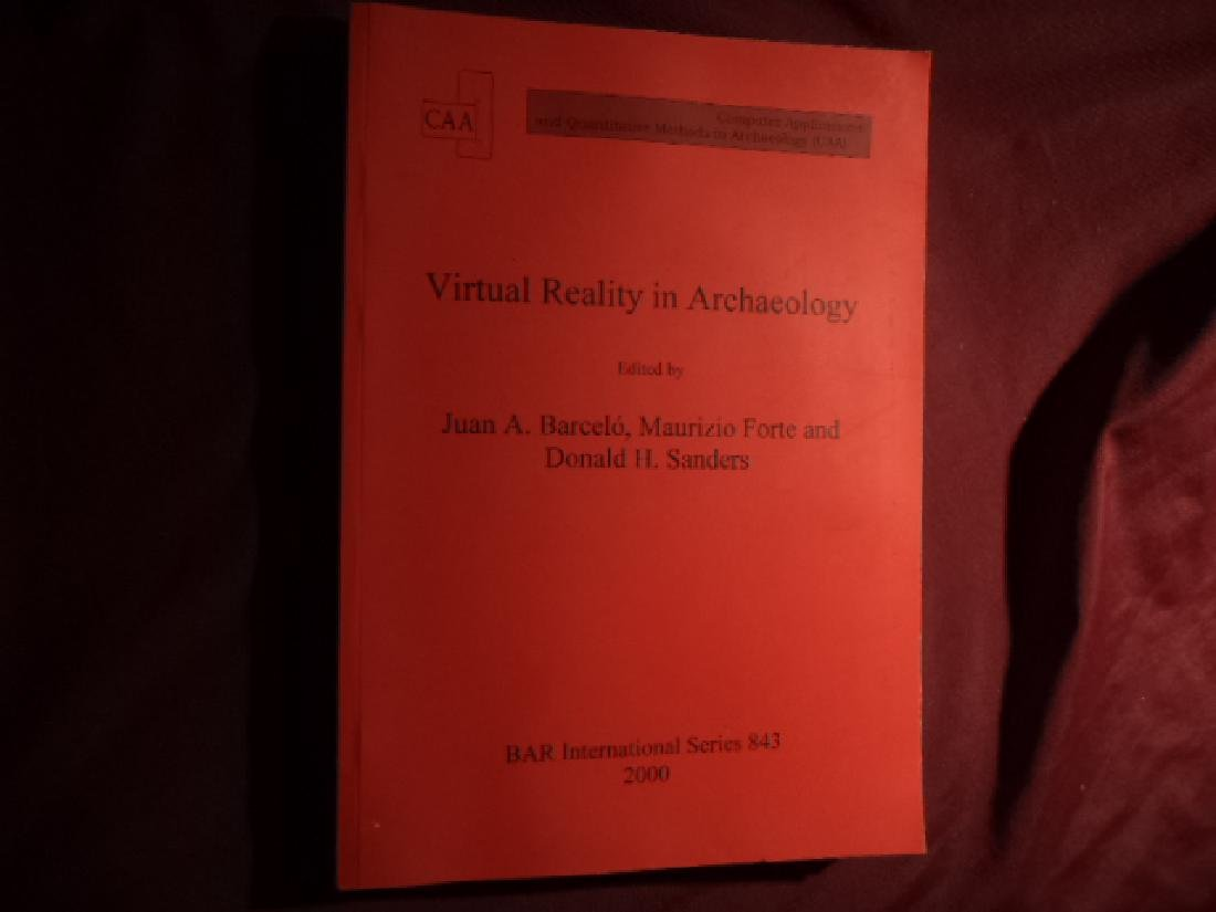 Virtual Reality in Archaeology. With CD-Rom.