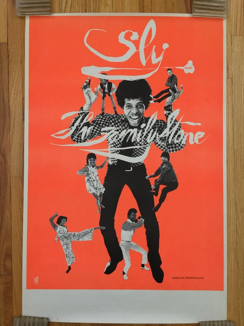 RARE - SLY AND THE FAMILY STONE POSTER