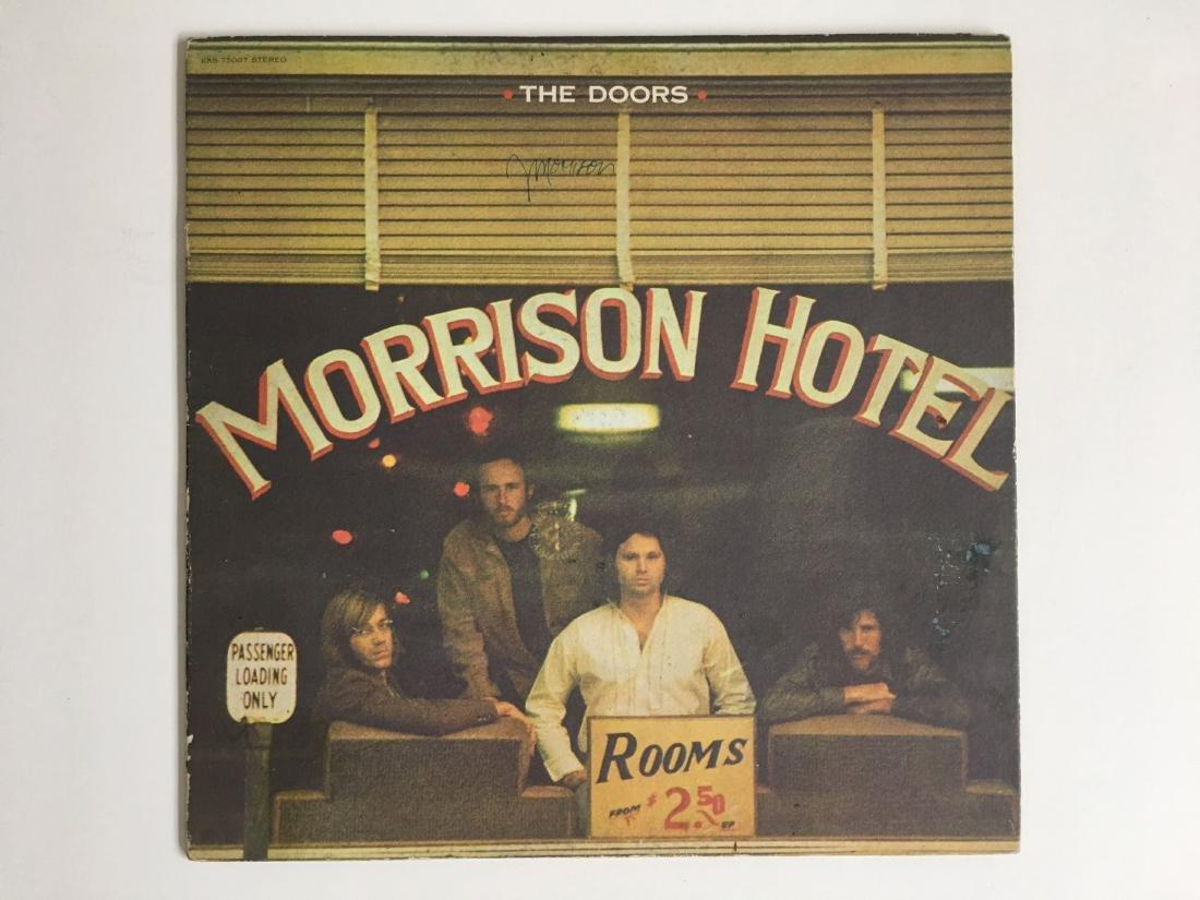 JIM MORRISON SIGNED ALBUM