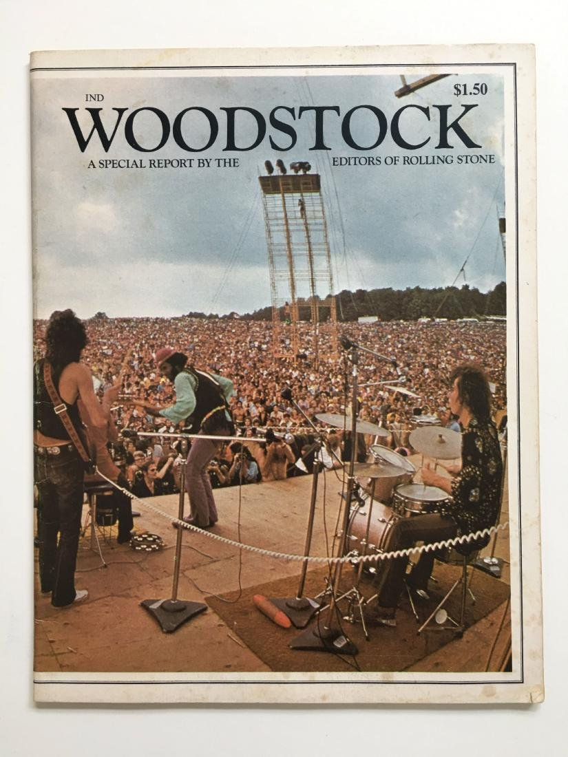WOODSTOCK ROLLING STONE MAG EDITION