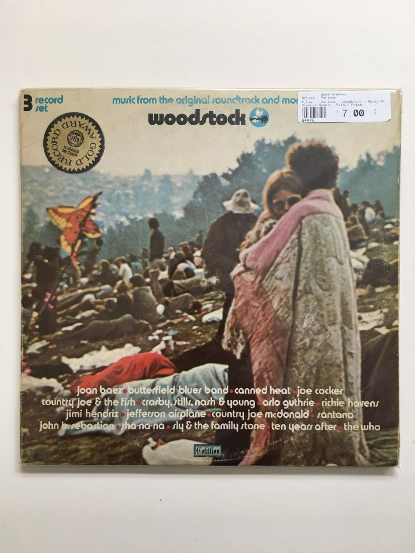 WOODSTOCK ORIGINAL ALBUM