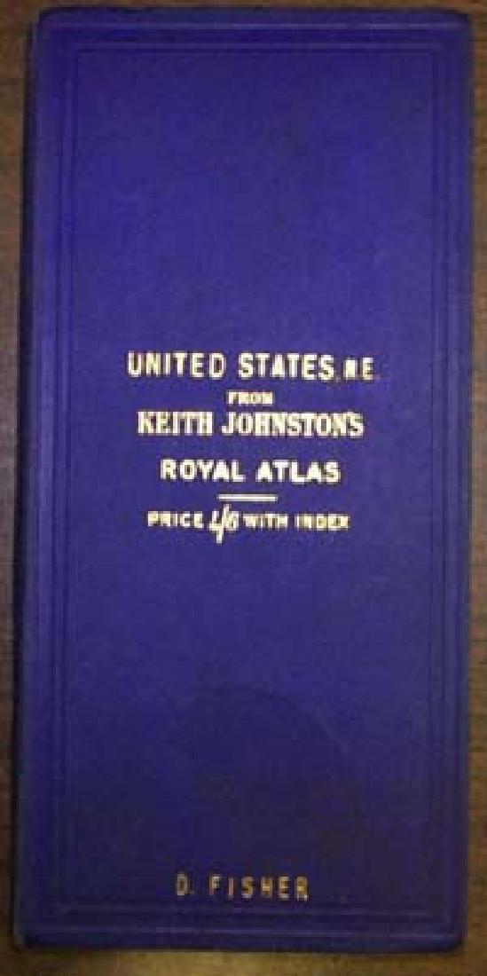 Keith Johnston's Royal Atlas. United States, N.E.