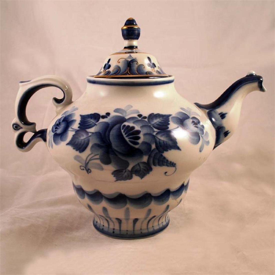 Large Maliavina Ceramic Teapot