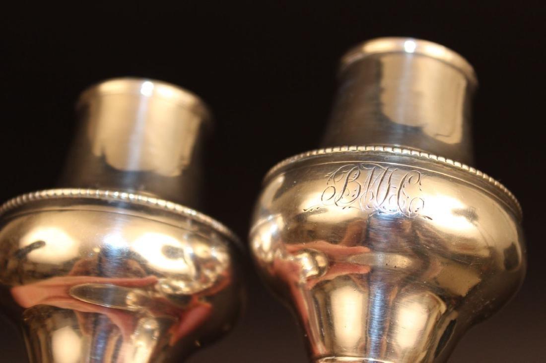 Pr. 18c Georgian Silver Casters Hester Bateman London - 3