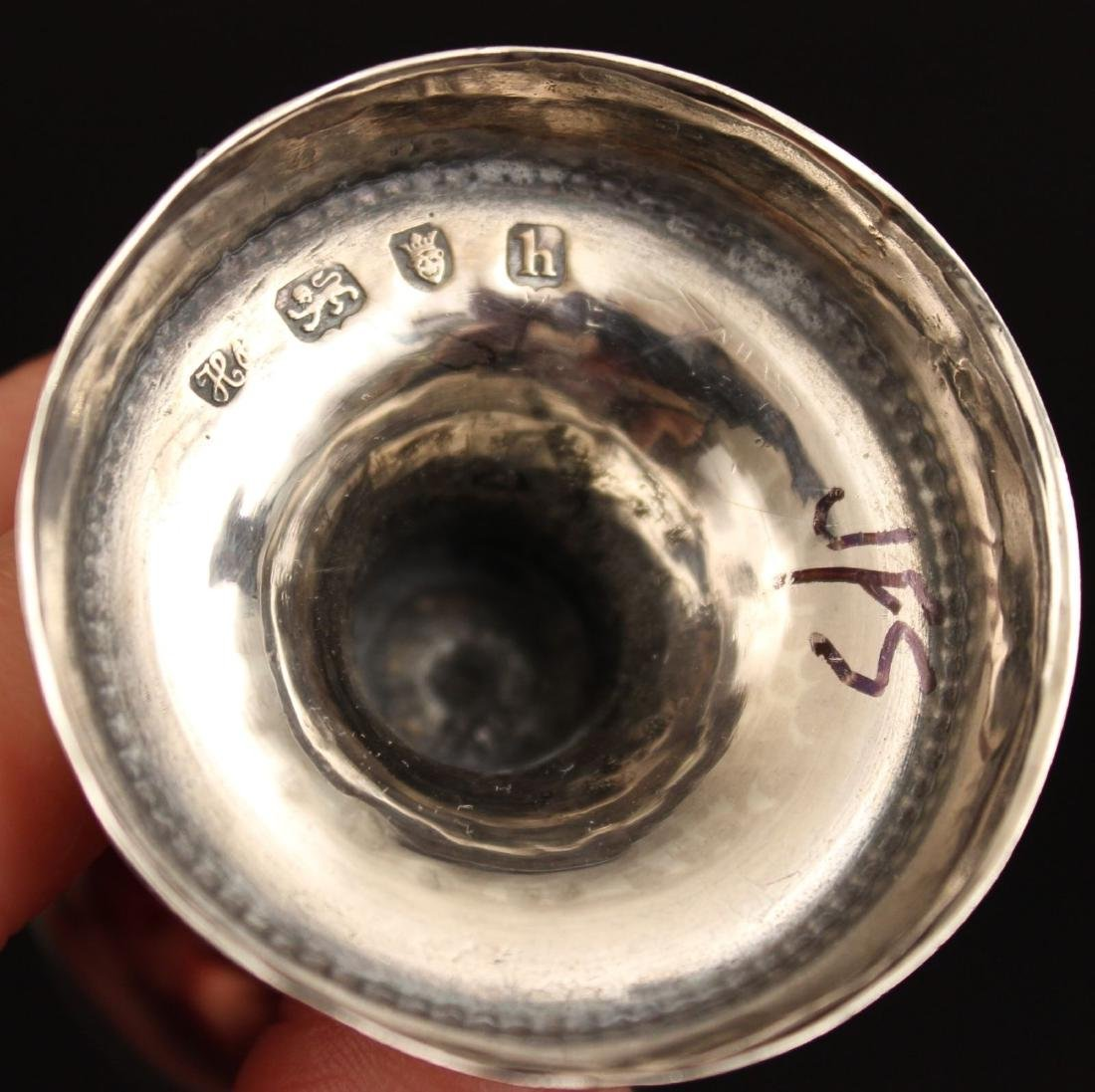 Pr. 18c Georgian Silver Casters Hester Bateman London - 5