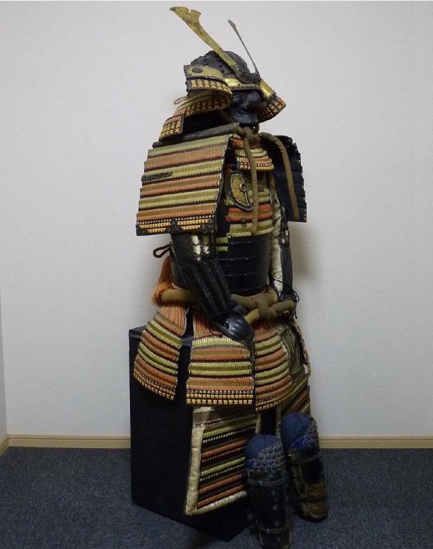 Japanese Samurai Armor Yoroi, Edo Period