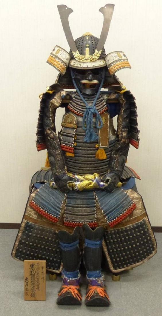 Original Japanese Mighty Samurai Armor Taisho period