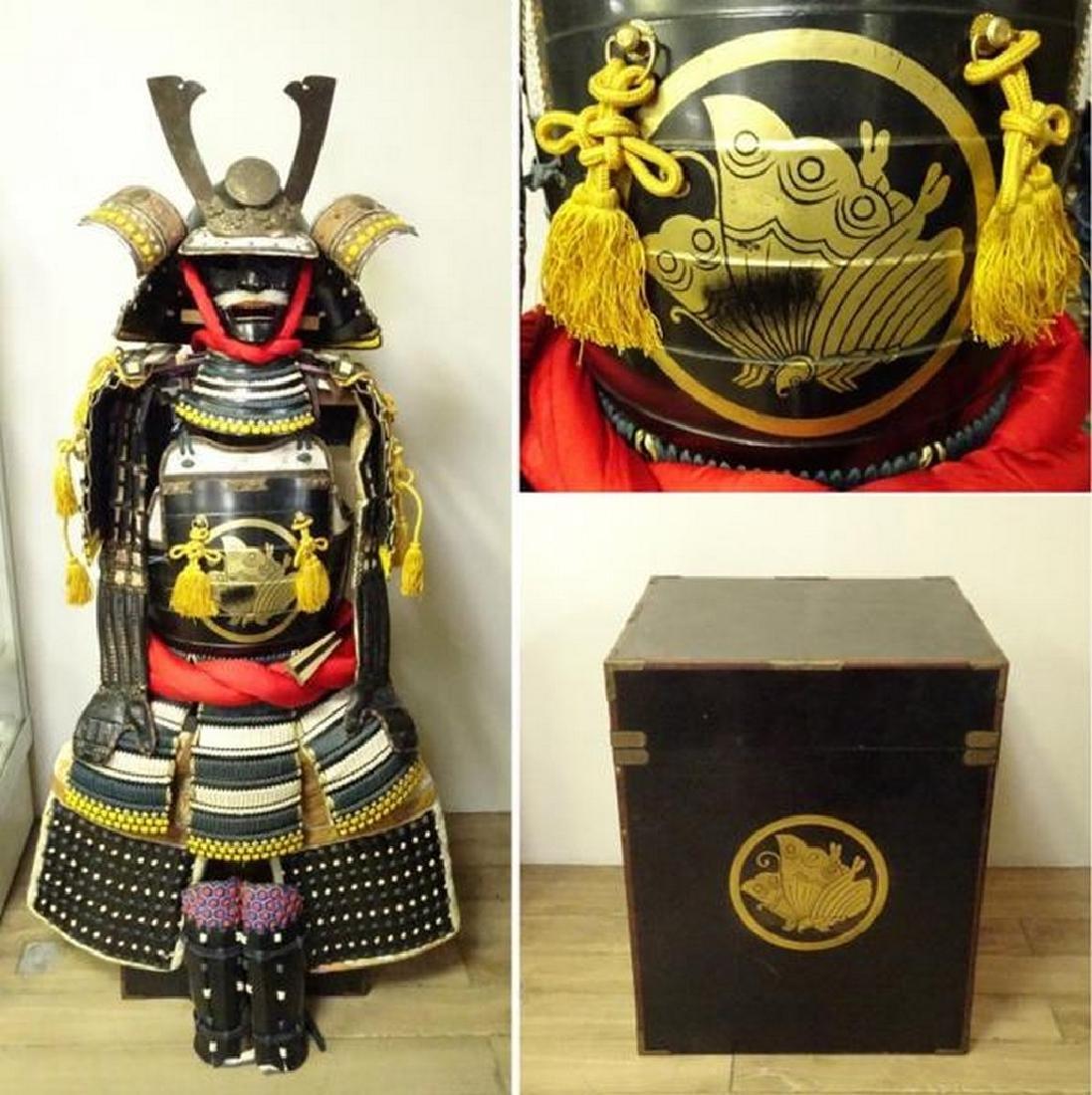 Original Japanese Samurai armor from the Showa period