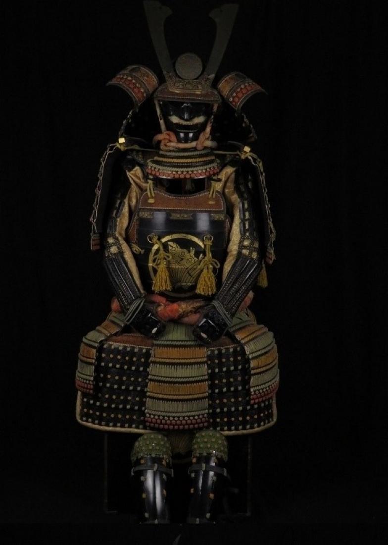 Antique Japanese Samurai Armor yoroi, 1890