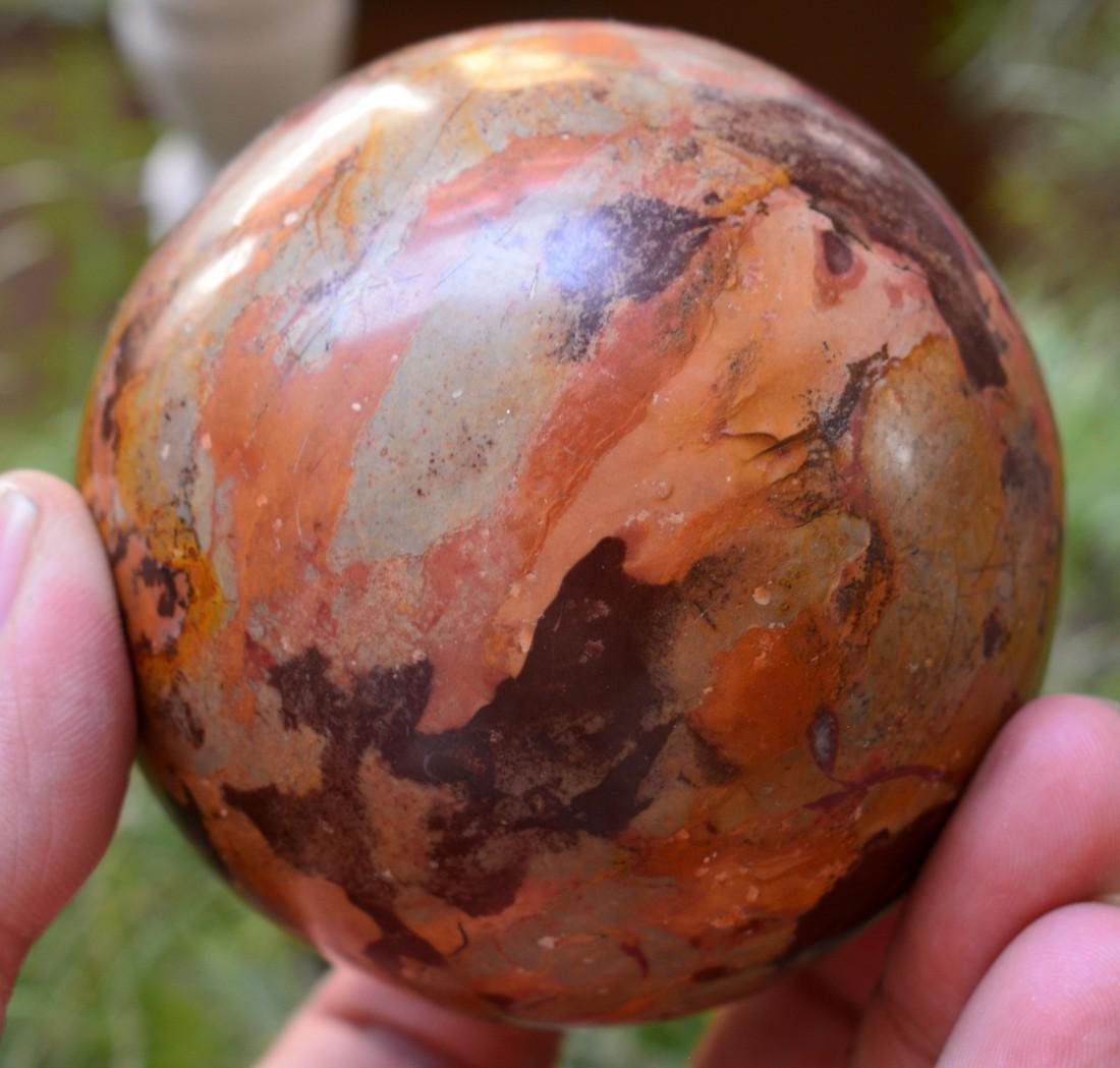 Natural Jasper Round Ball